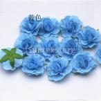 Yahoo!STKショップ20xartificialシルクは、結婚式バルクブライダルブーケの装飾 - 青花のヘッドをバラ