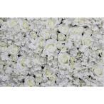 Homyl 全11色 結婚飾り 人工花 壁 花柱 主な道路 中央  - 白