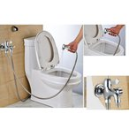 SunniMix 壁 取り付け 高品質 浴室 蛇口 冷水 タップ 水栓 実用的 全2種 - 2