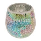 エレガントなモロッコモザイクガラス茶ライト燭台燭台キャンドルホルダー05