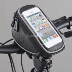 """自転車サイクリングフロントフレームパニエチューブバッグ画面タッチ可能なストレージ・パック5.5 \ """""""