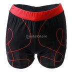 S '水泳トランクの男ジム水着パンツ赤XXLを\ビーチショーツ男性水泳メンズ