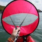 """42 \ """"風下風のパドルポップアップカヌーカヤックの帆のカヤックアクセサリー赤いバラ"""