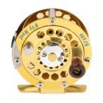 【ノーブランド 品】 アルミニウム フライ フィッシング リール スピニング  3/4# フライ 釣りライン ホイール タックル