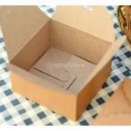 クラフト紙 DIY 茶色 紙製 お菓子 パッケージ ギフトボックス パーティー 結婚式 好意 12個入り