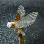 IPOTCH フクロウのブローチ 鳥のブローチ ブローチピン ブローチ パーティー プロム 結婚式 宴会