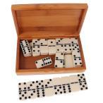 ドミノセット 倒し 積み木 仕掛け ボードゲーム おもちゃ 竹ボックス