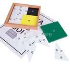 モンテッソーリおもちゃ 数学材料 ピタゴラス定理 木材教育玩具