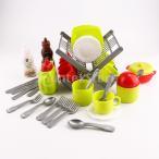 おままごと キッチンおもちゃ 調理器具 食器セット ごっこ遊び おもちゃ 全34個