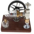 スターリングエンジンモデル スピード200-500rpm フリーピストン 物理学 教育玩具 おもちゃ