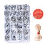 24スタイル スパンコール キット スパングル ホビー用 装飾 素材