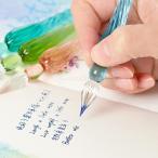 ガラスシグネチャーペン サイン筆 インクペンプレゼント カード用