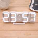Perfk デジタル 目覚まし時計 北欧調 壁掛け USB充電式 LED表示 装飾