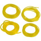 ショッピング部品 Fenteer 部品 燃料ライン 交換 ホース チュービング ガス 燃料ライン 4サイズ 黄