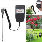 デジタルPHメーター 土壌酸度計 ペーハー測定器 ソーラーパワー 防水