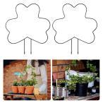 登山植物用2x植物トレリストレリス植物つる茎サポートワイヤーA