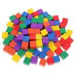 積み木 正方形 キューブ クリエイティブゲーム 子どものおもちゃ DIY 知育 全2選択 - 100個