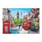 1セット 5D ダイヤモンドペインティング 刺繍 DIY 景観 風景 家 装飾 全2スタイル - 英国都市