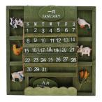 クリエイティブ 木製 アドベントカレンダー DIY マニュアル カレンダー お祝い&機会