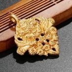 ゴールデンタオティマハーカーラ仏教のお守りDIYネックレスチャームペンダントアクセサリー