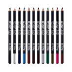 約12本セット アイライナー鉛筆 12色 防水 アイシャドー アイライナー メイク コメディアンセット