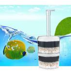 ノーブランド品   水槽内部 エアーポンプ 濾過 フィルター スポンジ 単/両層選べる - 2層