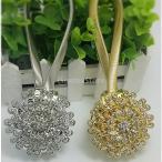 全4色選ぶ 磁石 カーテン用 クリップ カーテンフック タイバック バックル 調節可能  - 銀