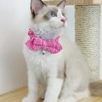 ペット 猫用 子猫用 可愛い 首輪 チョーカー  ネックストラップ 夜光 鈴付き 全9様式 - 様式1