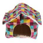 ペット ラット ハムスター ハンモック 遊ぶ おもちゃ  快適 ハウス ケージ 全2種 - #2
