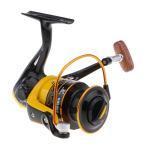 流線型 スピニングリール 釣りリール 右/左手 12BB 5.2:1/5.1:1 交換用 汎用 全4サイズ - HD5000