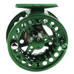 SunniMix 釣りリール フライリール メタル 左/右手交換可能 釣具 交換 滑らか 即時抗力係合 制御しやすい 全2色 - 緑