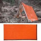 寝袋のテントの屋外ギヤ日曜日のProteionはオレンジPE材料を防水します