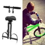 子供の自転車の座席セットマウンテンバイク自転車屋外旅行バイクチャイルドシートとフットレストペダルとアームレストハンドル-アンチスクラッチ.簡単インス