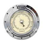 バロメーター 気圧計 ヴィンテージ 気圧測定 RV/ヨット/ボート 多用途 実用的