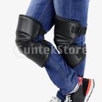 オートバイ 暖かい ひざすねプロテクター 膝保護 膝パッド 防水 防風
