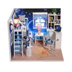 6色選べる ドールハウスキット DIYハウスキット ハウスミニチュア  北欧のハウス 組み立て簡単 誕生日/お祝い/クリスマスプレゼント - #5
