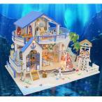 キッズ DIYドールハウス玩具 ミニチュア 工芸 手工製品 知性開発おもちゃ 5色選択でき - #4