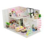 キッズ DIYドールハウス玩具 ミニチュア 工芸 手工製品 知性開発おもちゃ 5色選択でき - #3