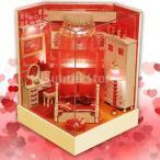 Perfeclan ドールハウス 3Dパズル ミニチュア DIY 木製 LEDランプ付き 建物キット 子供 おもちゃ - #1