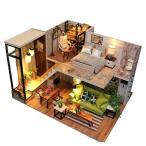 Perfeclan 木製 1/24スケール ドールハウス家具 ミニチュア 家具 部屋 ヨーロッパスタイル 人形館 5種選択 - #5