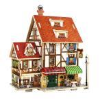 FLAMEER 3Dパズル DIYドールハウス 1:24スケール 組み立て おもちゃ ミニチュア 家具 コレクション 全20カラー - #2
