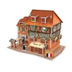 3D木製ドールハウスDIYセットミニチュア家具キットプレイドールハウスキッズおもちゃ