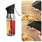 オリーブオイルスプレーボトル調理用オイル噴霧器ミスター食品グレードのpcオイルスプレー透明オイルボトル用キッチンバーベキュー.グリルと焙煎