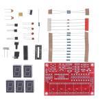 水晶発振器 デジタル周波数カウンタ 1Hz-50MHz DIYキット 5桁 解像度 ディスプレイ デジタル周波数カウンタ