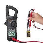 デジタルクランプメーター自動測距非接触テスターLCDディスプレイブラック