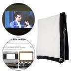 プロジェクタースクリーンムービーディスプレイスクリーン16:9HDパーティー用に折りたためる60インチ