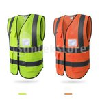 安全ベスト ポケット 反射チョッキ 夜間 警備 誘導 ガードマン 工事現場 ユニセックス