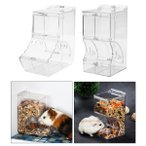 ハムスター自動フィーダーディスペンサー食品ボウルペット食品容器小動物