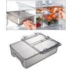 スライド冷蔵庫オーガナイザーボックス冷蔵庫収納引き出しボックス