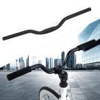 25.4mm MTBハンドルバーライザー、アルミニウム合金マウンテンロードDHバイクハンドルバー自転車ライザーバーエクストラロングハイライズ